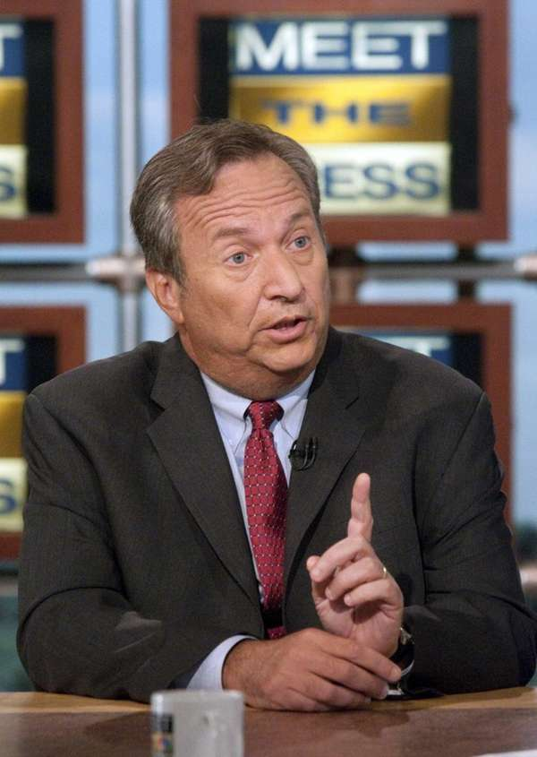Lawrence Summers, mentioned to be the next head
