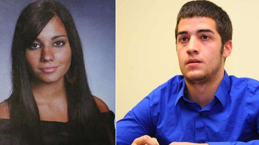 Left, Andrea Rebello, a Hofstra student who died