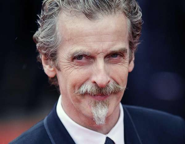Glasgow-born actor and Oscar winner Peter Capaldi in