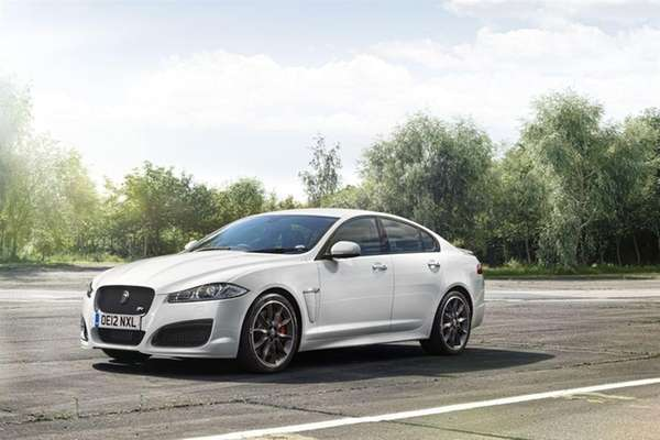 The 2013 Jaguar XF was part of a