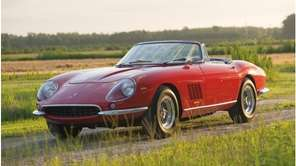The 1967 Ferrari 275 GTB/4*S NART Spyder sold