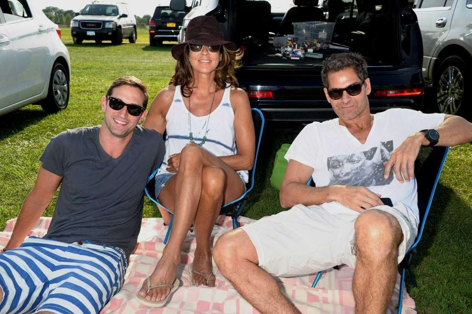 From left, Lance Miletich, Kelly Klein and Tony