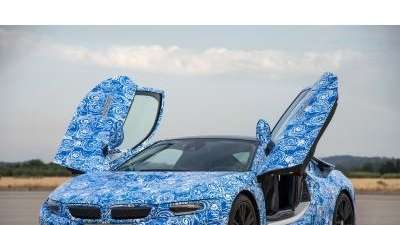 Bmw I8 Electric Plug In Is Supercar Of The Future Newsday