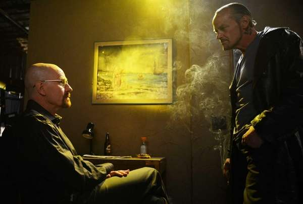 Walter White (Bryan Cranston) and Jack (Michael Bowen)