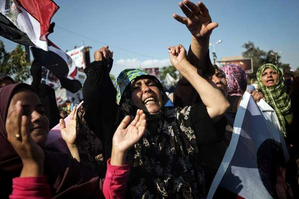 Members of the Muslim Brotherhood and supporters of