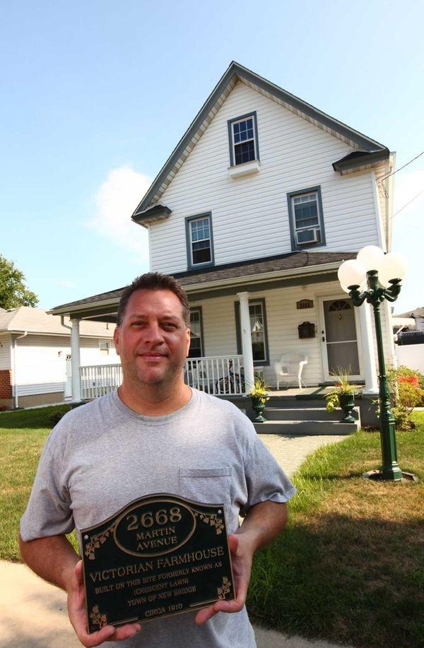 Walter Eisenhardt Jr., of Bellmore, owns a Victorian