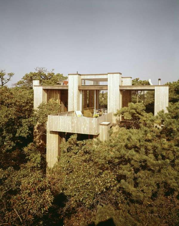 A Horace Gifford-designed residence in Fire Island Pines