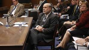 Federal Reserve Chairman Ben Bernanke testifies before Congress