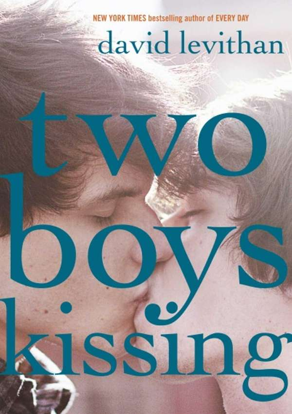 """Two Boys Kissing"" by David Levithan (Knopf, August"