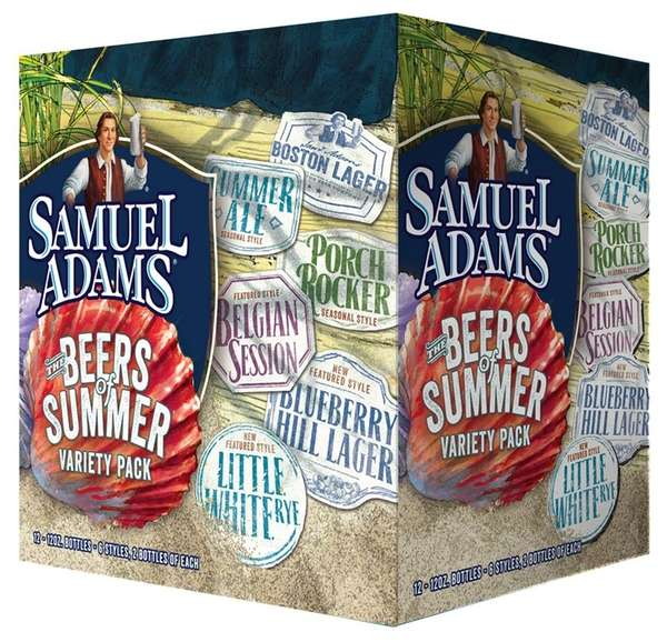Samuel Adams' Beers of Summer 12-pack has a