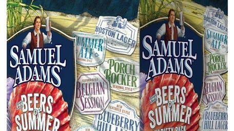 Samuel Adams' Beers of Summer 12-pack has a