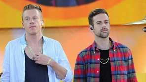 Macklemore & Lewis perform at Rumsey Playfield in