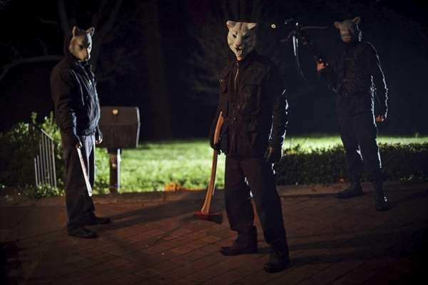 "Adam Wingard's ""You're Next."""