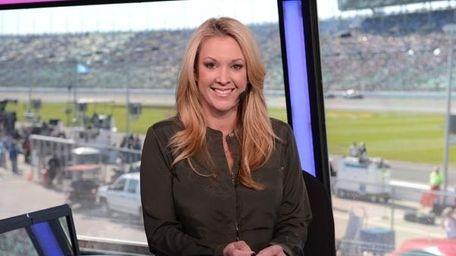 Nicole Briscoe, NASCAR reporter for ESPN.