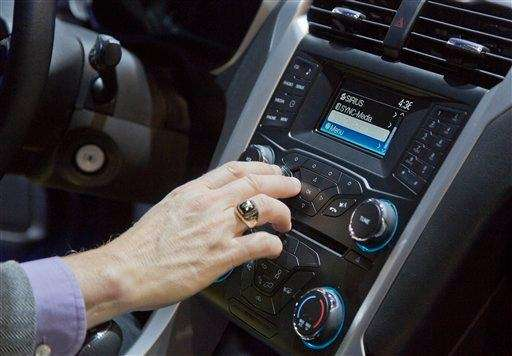 An industry affiliate tests out Ford's SYNC connection