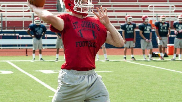 St. John the Baptist's Matt Brady throws a