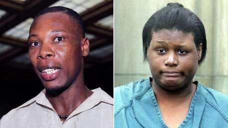 Innocent Demesyeux, left, said that Leatrice Brewer, right,