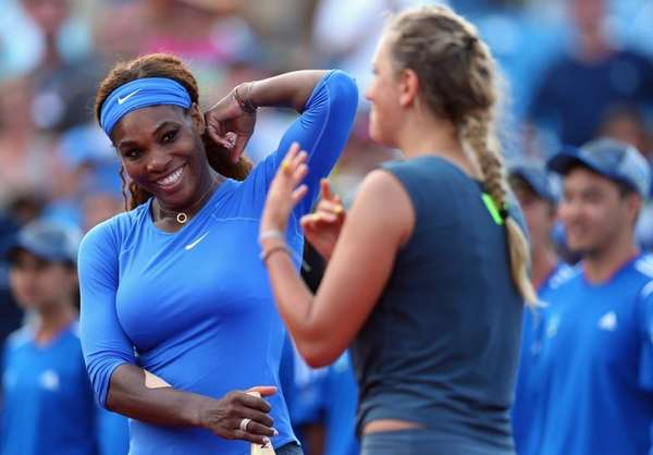 US Open: For Serena, it's first place or no place