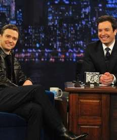 Jimmy Fallon interviews Justin Timberlake on quot;Late Night