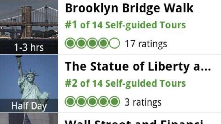 The TripAdvisor app is loaded with maps, reviews