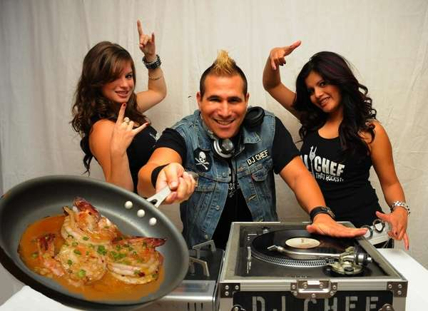 DJ Chef Marc Weiss, in an undated photo,