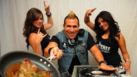 DJ Chef Marc Weiss, in an undated photo,