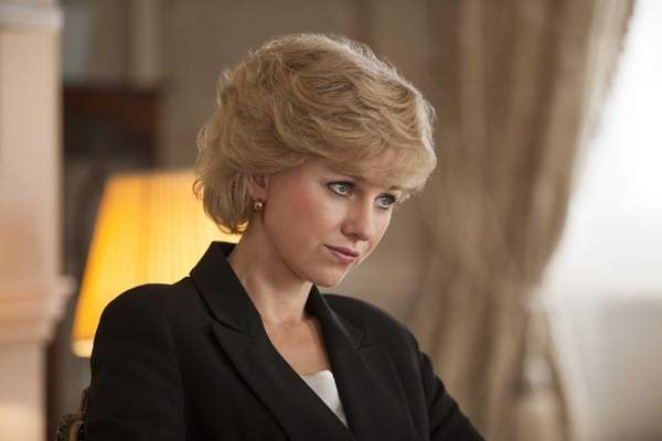 Naomi Watts stars as Princess Diana in the