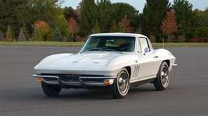 The 1966 Chevrolet Corvette Sting Ray Coupe was