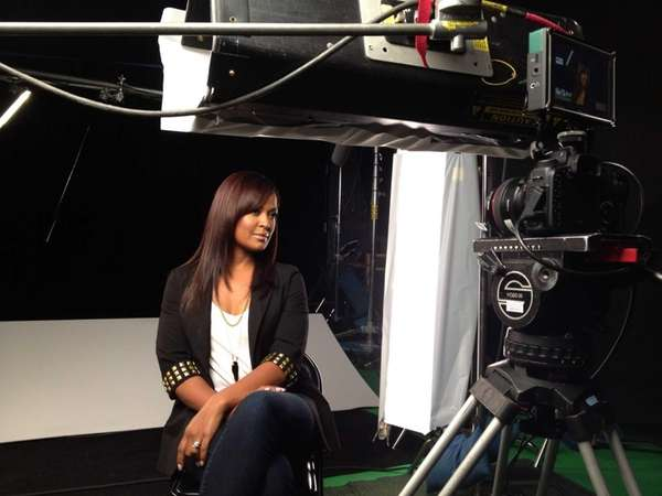 "Laila Ali in the ESPN documentary film ""Branded."""