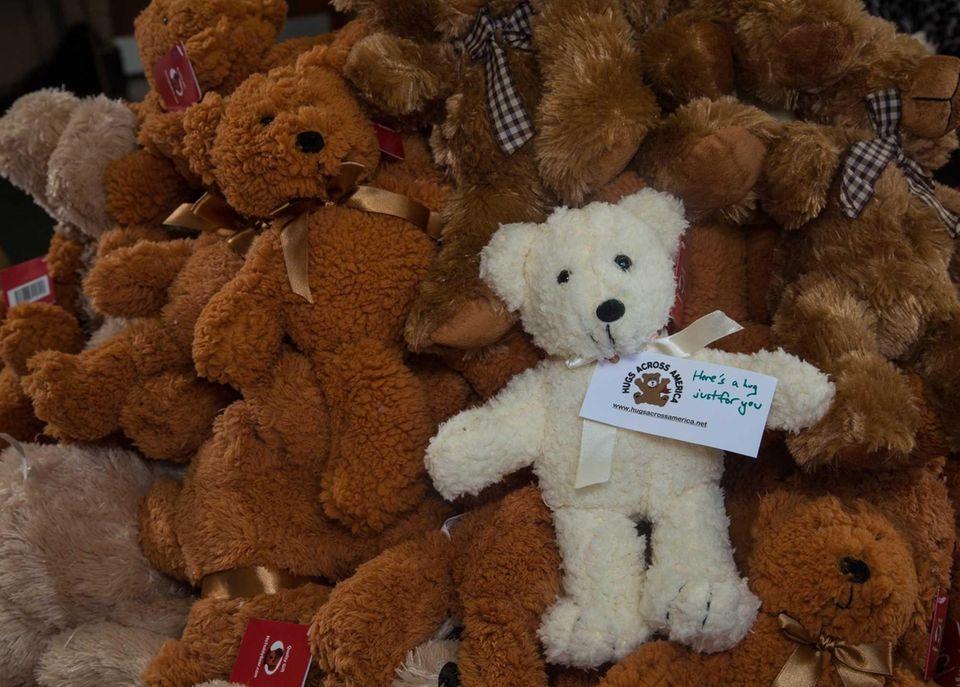 The bears that members of Hugs Across America