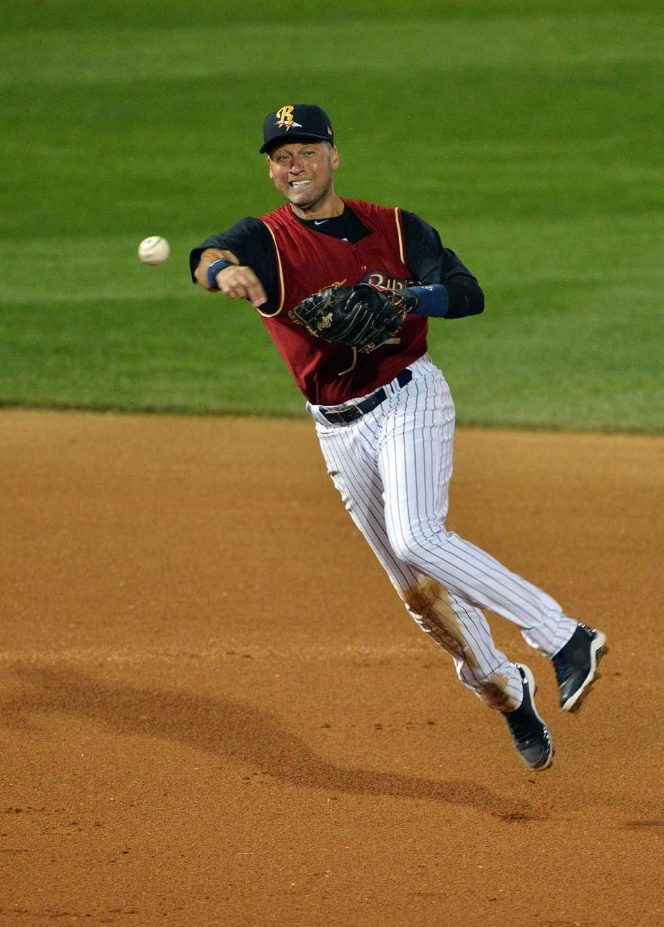 Yankees' Derek Jeter, starts his rehabilitation assignment with