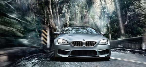 The 2014 M6 Gran Coupe is the high-powered