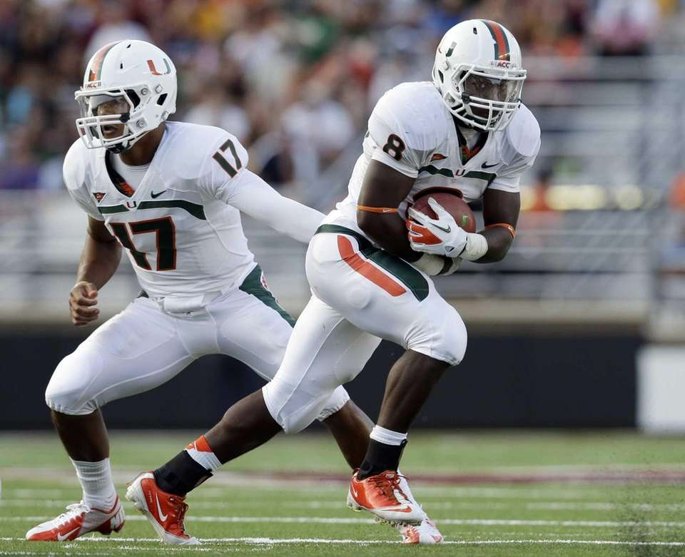 22. MIAMI Conference: ACC, Coastal Division; Coach: Al