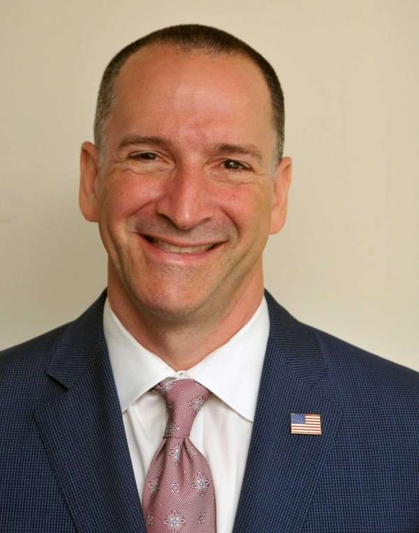 Democratic Nassau County executive candidate Adam Haber rolled
