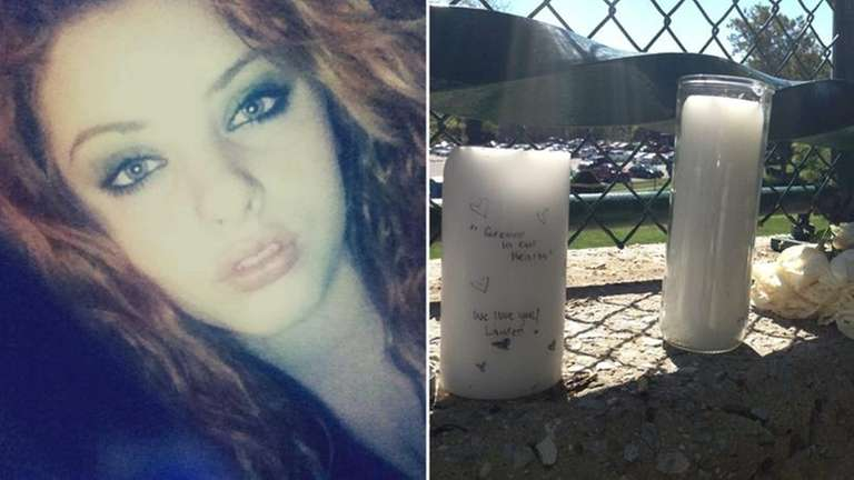Lauren Daverin, 18, was killed and her body