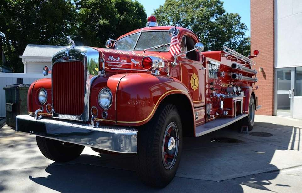 This 1956 Mack fire truck was among the
