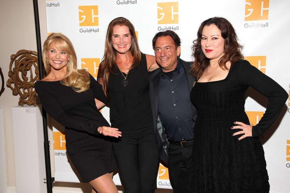 Christie Brinkley, Brooke Shields, Eugene Pack and Jennifer