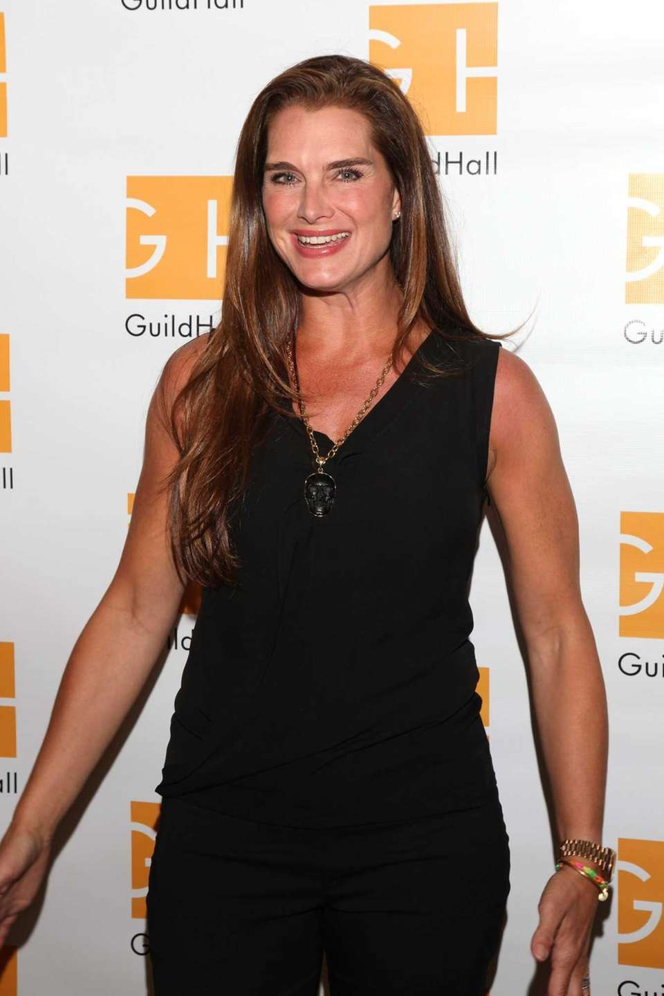 Brooke Shields attends the