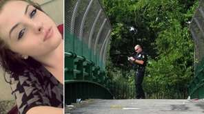 Police said the body of Lauren Daverin, 18,