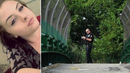 Police said the body of Lauren Daverin, 18,