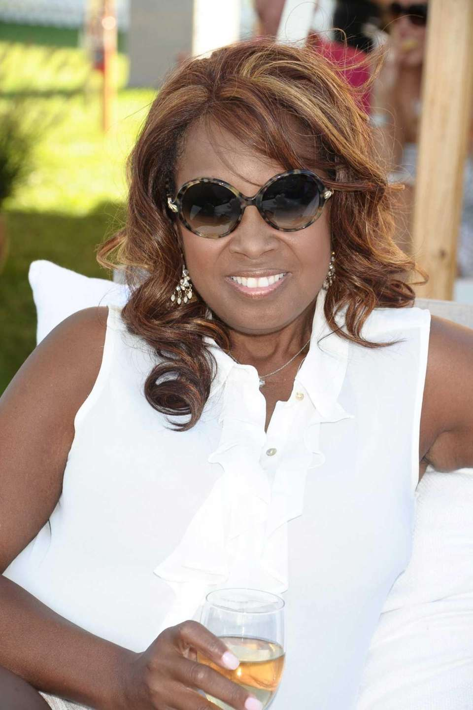 Star Jones attends the final match of the