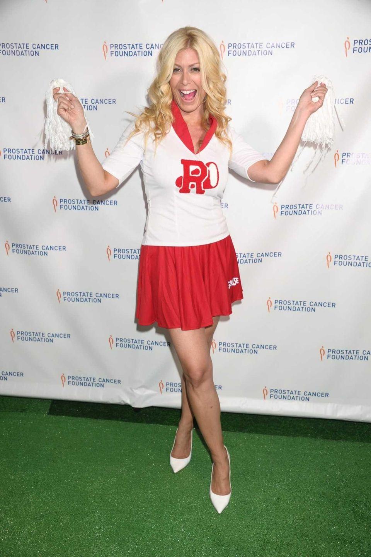 TV personality Jill Martin gives a high school