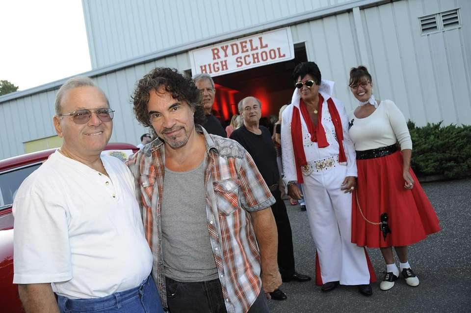 From left, John Cetta and singer John Oates