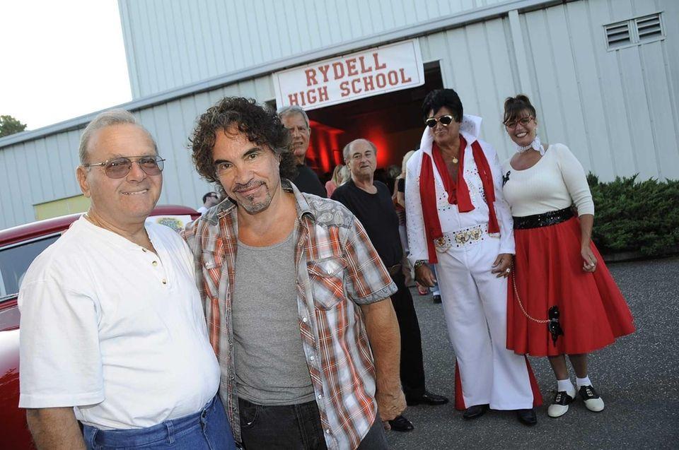 From left, John Cetta and singer John Oates