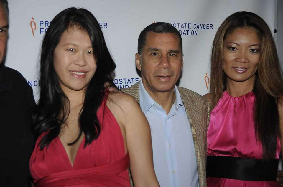 From left, Mei Green, former New York State