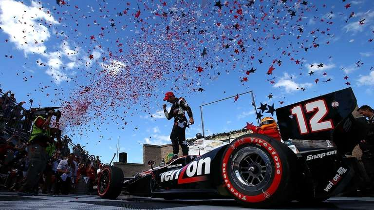 Will Power, driver of the #12 Verizon Team