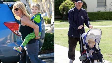 Celebrity Baby Scoop looked at five celebrity grandparents,