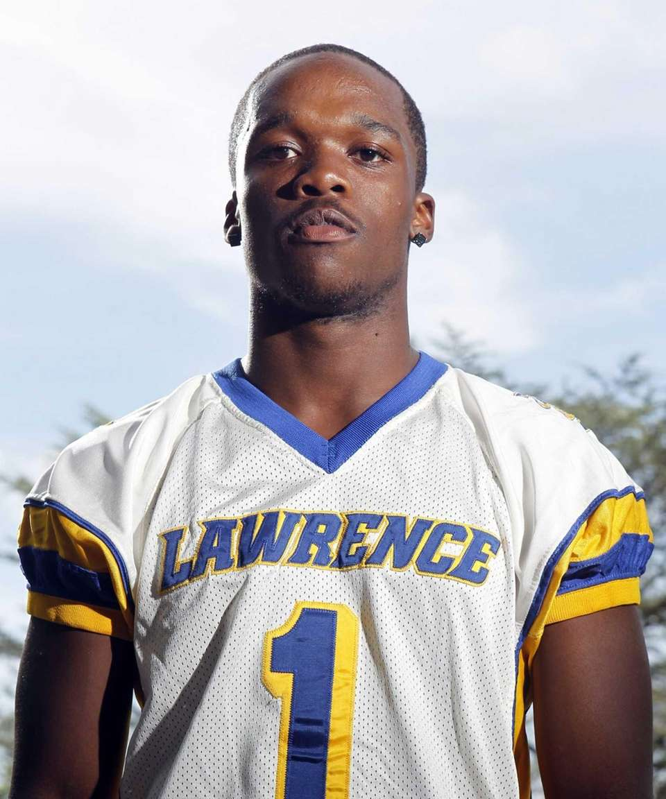 JORDAN FREDERICKS Lawrence As a running back and