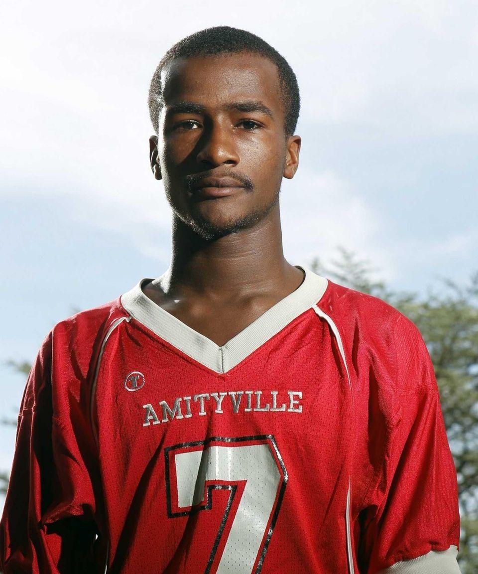 SEAN WALTERS Amityville A 5-8, 150-pound senior quarterback,