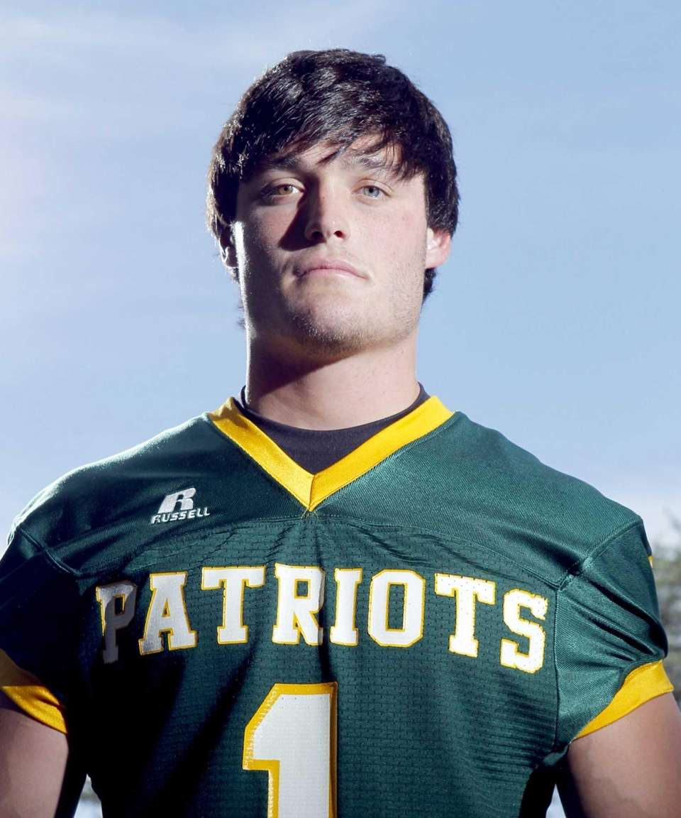 JAKE BIRO Ward Melville The 6-foot, 210-pound quarterback